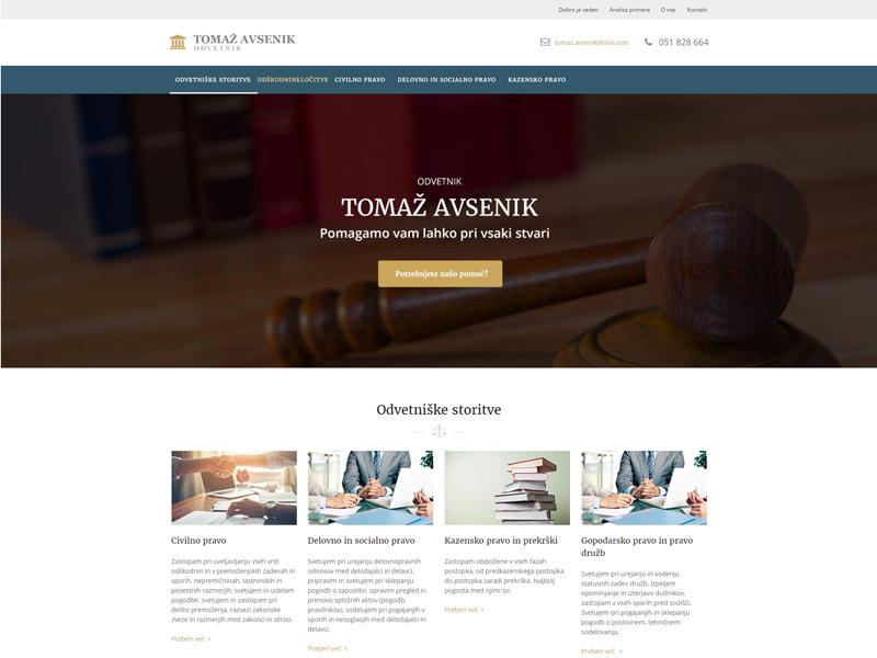 Avsenik Tomaž - odvetnik